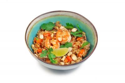 Жаренный рис с морепродуктами 410г