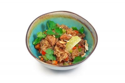 Жаренный рис со свининой 395г