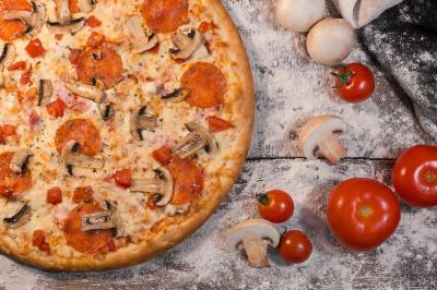 "Пицца ""Кватро Карне"""