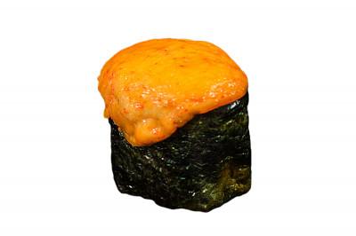 Гункан запеченный с креветкой 45г