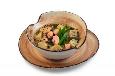 Мисо суп с лососем 300г