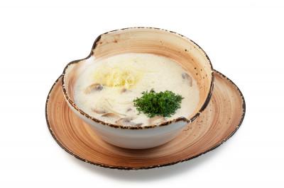 Сливочно-сырный суп с курицей 300г